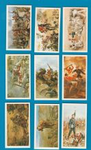 Collectable Tobacco Cigarette cards set History of the V.C. set of 24